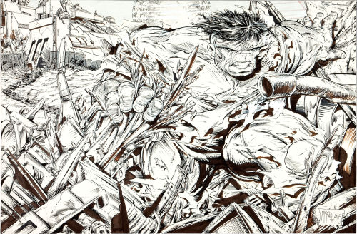 The Hulk By Todd McFarlane