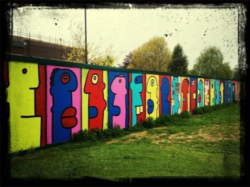 Berlin Wall at Chichester by Econet46 on EyeEm