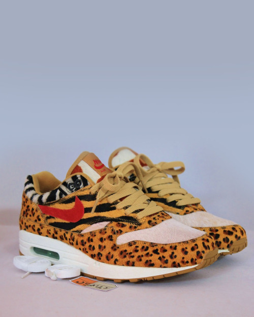 shoe-pornn:  Nike Air Max 1 Animal Pack.