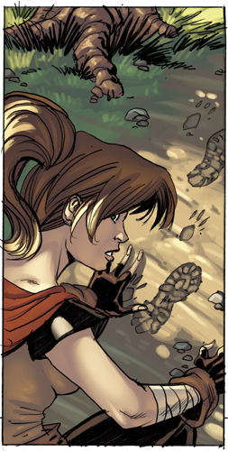 One of my favorite panels I colored from Jeremy Dale's Skyward series. This book's gonna look awesome, you guys don't even know.
