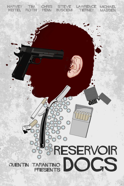fuckyeahmovieposters:  Reservoir Dogs by Edgar Ascensão