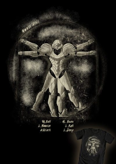 gamefreaksnz:   Vitruvian Aran by Ninjaink US $12 for 48 hours only Artist: Redbubble | Facebook | Tumblr