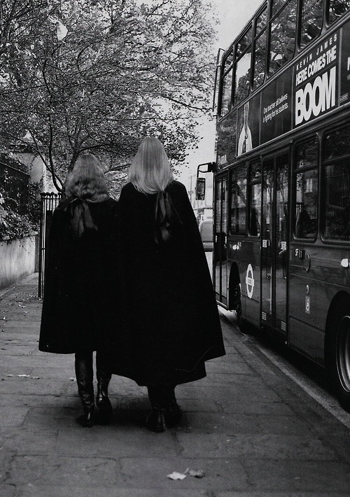 Codie and Charlie; Photographed by; Richard Bush, i-D Magazine Pre-Spring 2013, with love.