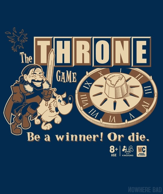 The Throne Game by BrinkerhoffOn sale for $12 from Nowhere Bad for a limited time only.