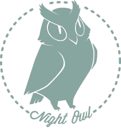 A night owl, staying up late into the night