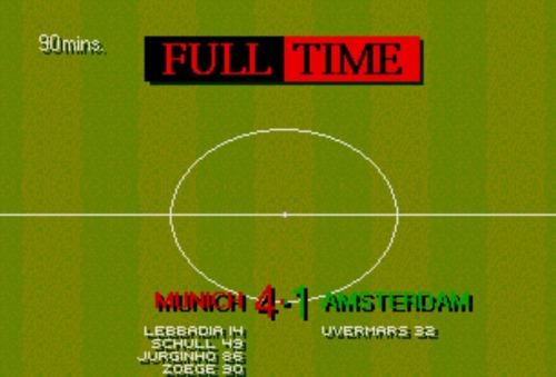 """gargantua:  Quattro pere (sic!) all'Amsterdam…. per la serie """"riproviamo a giocare a Sensible Soccer"""" e adesso non me ne stacco più..  Non so nella mia vita di adolescente abbia giocato più a sensible soccer, pc calcio, age of empire o scudetto"""