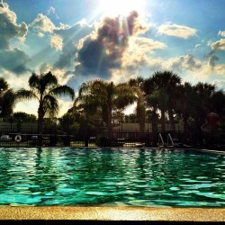 #sky #clouds #pool #cloudaholic #florida