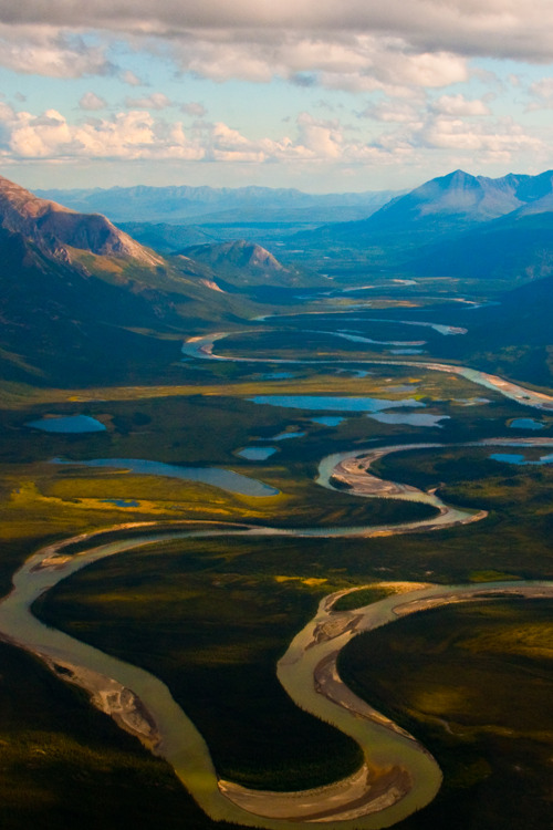 givncvrlos:  From Above in Alaska 3