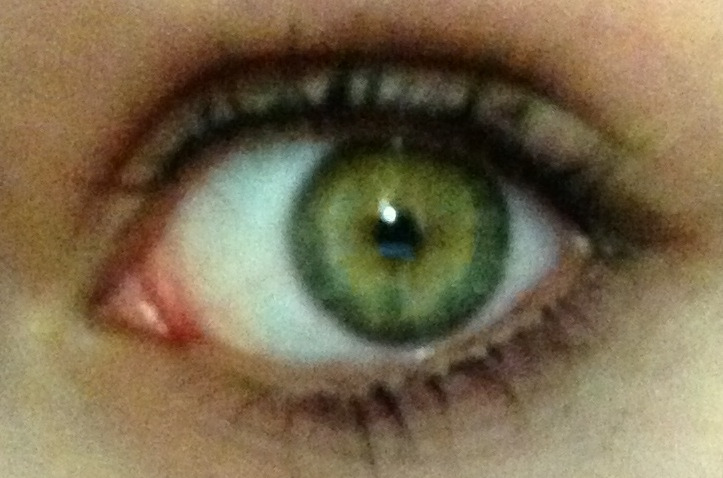 my eyes are so beautiful.