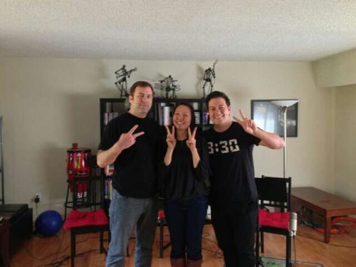 "ycfansaroundtheworld:  ""14 years of recording with yellowcard……awesome!!"" - Rodney Wirtz ‏via twitter"