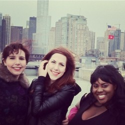 Ladies! #instagood #chicago #boat #tour #holla