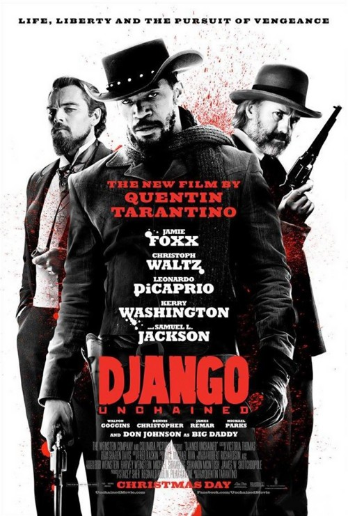 Django Unchained (2012) I actually had to watch this twice before writing this review. And I'm still a little undecided. I'm a huge Quentin Tarantino fan, and have been for many years. That, plus the myriad of glowing reviews this got, had me expecting a lot. I wasn't crazy about it the first time I watched it, but I liked it better the second time. One of my main problems was that it felt so similar to Inglourious Basterds (2009) and also the Kill Bill films, to some extent. It just kinda seemed like Tarantino was doing the same revenge movie, except with African-Americans instead of Jews. I guess the other major reason I wasn't so keen on it was the character of Django. Jamie Foxx did a great job, but I just wasn't all that compelled by his character or his relationship to Kerry Washington's character. I didn't feel that their relationship was developed enough. It was quite long, which I wouldn't mind, except that a couple of parts dragged a bit. Now, with all that negative stuff out of the way, let's talk about what I liked. I loved so much of it! It's wonderfully shot by Tarantino, and the cinematography was nice. It had lots of great dialogue, of course, though not quite as sharp as other films of his, I thought. There was lots of humour in it too. All Tarantino's films have a funny side to them, but I thought some of it was a little obvious here. Something else Tarantino is known for is his soundtracks, and he's delivered another awesome one here. I just wish they had been used more effectively, again, like his previous films. The entire cast was great. Christoph Waltz was fantastic, though not quite as impressive as his turn as Hans Landa. Leonardo DiCaprio was excellent and gave what might be my favourite ever performance from him. Samuel L. Jackson was hilarious and amazing. Washington was good, even though her character didn't get a lot to do. It's far better than Death Proof (2007), but still not as good as his best work. I still think I'll need to watch this a few more times before truly deciding how I feel about it. In the end, even the weakest Tarantino film is better than most other films.
