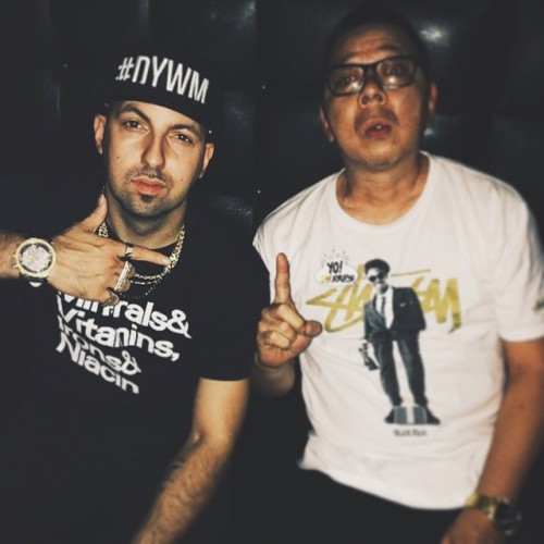 Much love to @termanologyst reppin that #dywm in Japan this weekend. Shout out @djtwohands on the ill Tee too. Happy 20th anniversary #oc. #wordlife   #theblast #remixtaipei #brandnu