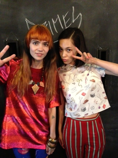 crunchwrapmistress:  actuallygrimes:  met kiko mizuhara today on a photo shoot! she was really nice and is coming 2 the show 2nite - sick  this is so hot tho  woa