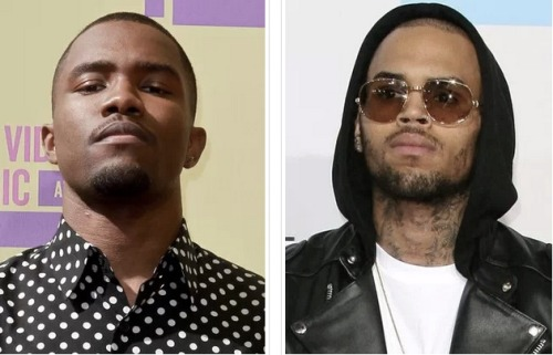 Chris Brown and Frank Ocean get into an all out BRAWL over a parking spot at the recording studio… naturally…. Click the pic for the full story.