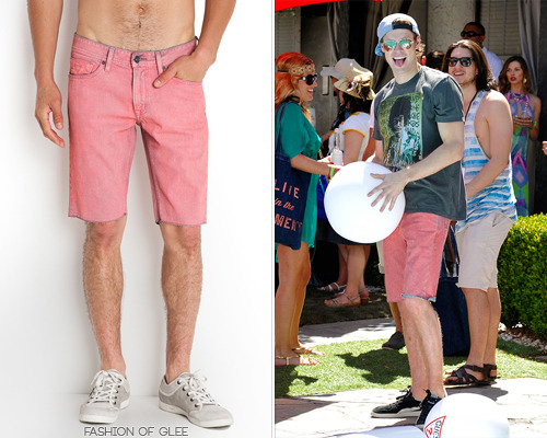 Chord Overstreet attends the GUESS Hotel Pool Party, Palm Springs, April 13, 2013 GUESS The Festival Collection Lincoln Denim Shorts - $79.00 Worn with: GUESS tee