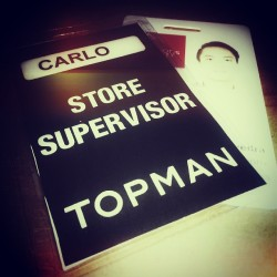 I'm a huge fan of topman. Most of the contents of my wardrobe are topman. And now, I'll be working for the brand. I'm really excited! I can't say that it's a dream come true but it's definitely close.. Thank you Lord!