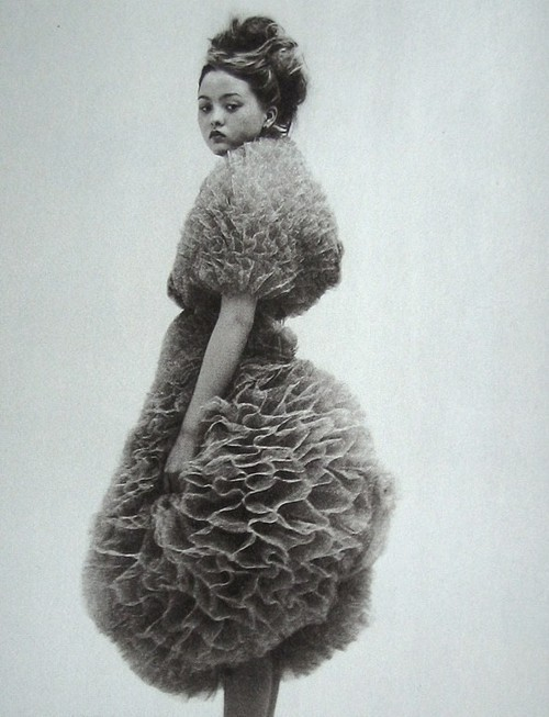 stylejourno:  Devon Aoki in Hussein Chalayan, photographed by Nick Haymes