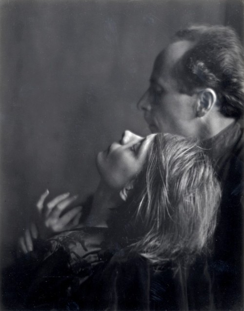 Imogen Cunningham, Edward Weston and Margrethe Mather, 1923.