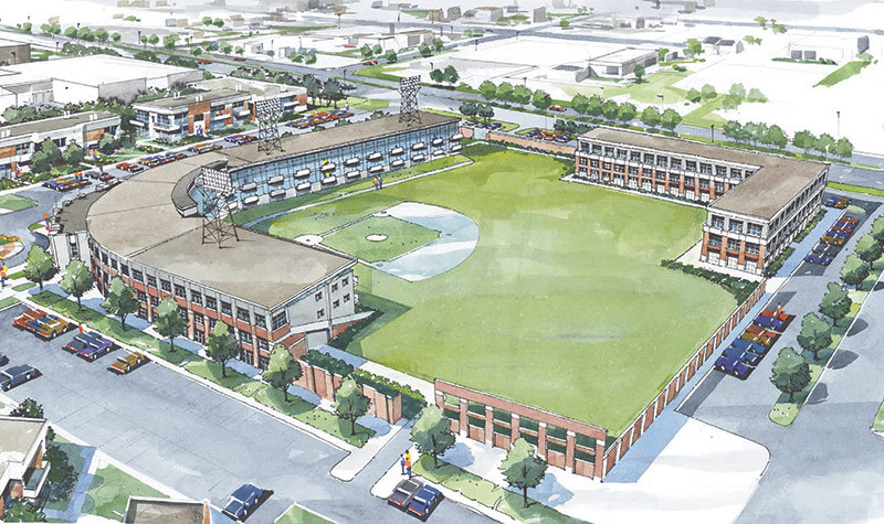 Converting an old minor league baseball stadium into condos in Indianapolis