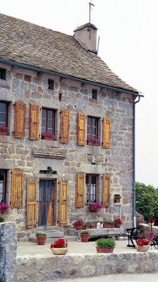 A farmhouse in France