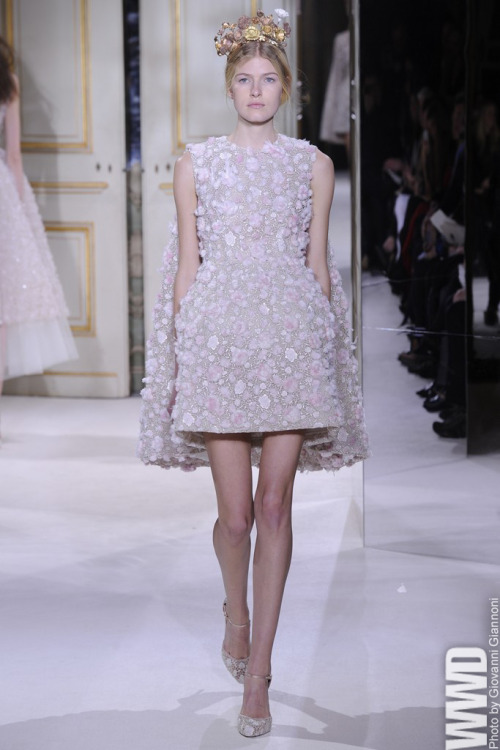Spring '13 Couture Trend: Lace Is More Giambattista Valli Spring Couture 2013