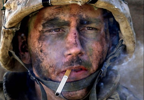 machoscruff:  Macho Marine Smokin
