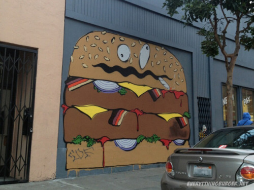 Bacon Double Cheeseburger Graffiti