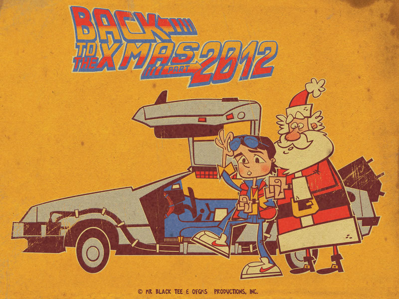 xombiedirge:  Back to the X-Mas by Olivier Fritsch Gomez / Website