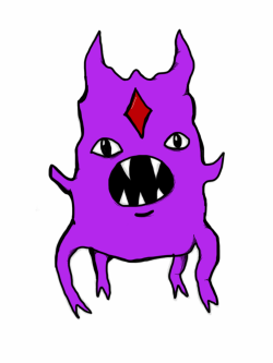 purple demon