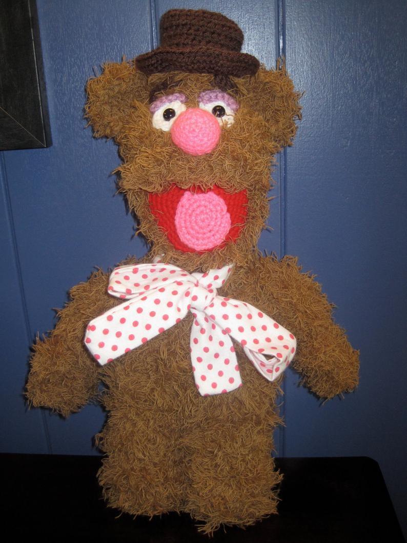Fozzie Bear Inspired Crochet Pattern #the muppets#toys#pattern#crochet #pattern for sale