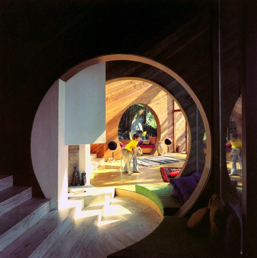 b22-design:  The Simons Residence - Erickson and Massey Architects - 1969