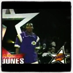 Watching 1997 NBA All-Star. Eddie Jones' 1st All-Star appearance. #NBA #Lakers #NBAAllStar #NBAat50 #NBAAllStarWeekend #EJ #throwback