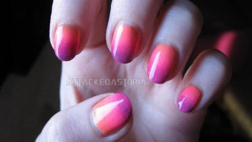 sunset gradient.. taken a few days after i'd done it, sorry it looks a little haggard.