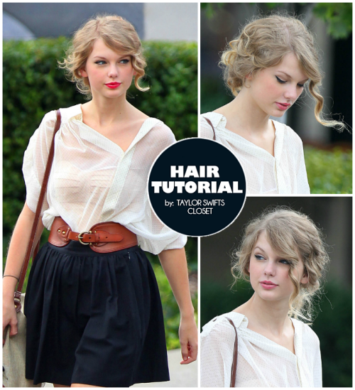 HAIR TUTORIAL: Casual Curly Bun (2011 Candid)