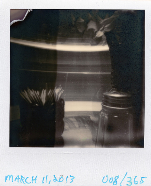 Pinhole: March 11, 2013 (008/365) on Flickr.Nashville Ammo Can, ~f/175, tilted film plane, PX 600 Silver Shade UV+, 4 minutes