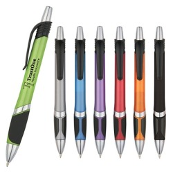 Promotional Jubilee Grip Pen Awesome Low Price for your logo. Customize with your business name for free with no set up fees.
