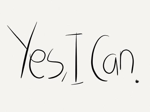 workoutfitnessmotivation:  Yes. you can.   on We Heart It - http://weheartit.com/entry/46714400/via/methodicallife