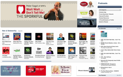 "everythingsoundsmedia:  Thanks to your support, we're on the front page of the iTunes podcasting section. We are reaching a lot of people and climbing in the ""What's Hot"" section in their science, arts, and culture listings. We only have a limited amount of time to capitalize on this, so we'd just like to ask for a favor and do one of these three things to help Everything Sounds. 1. Listen to the show If you haven't heard this show, it focuses on the role of sound in art, science, history and culture. We've produced 22 pieces without any outside funding and there's something for just about everyone. Maybe you're interested in how to create sound effects. Perhaps soul music is your jam. Maybe museums? Instruments made of meteorites? Do you enjoy sound art? Sufjan Stevens? Pick an episode in our episode guide and give it a shot! Listen on iTunes, Stitcher, Audioboo, Soundcloud, or on our homepage. 2. Share the show Are you on Tumblr? Reblog this! Share us on Twitter. Post us on Facebook. Spread the love on G+. Let your friends know about the show.  3. Write a review on iTunes We're climbing in a number of categories, but iTunes can be fickle, indeed! Ratings and reviews and new subscribers determine iTunes rankings. iTunes favors shows that have more positive reviews and moves them up in the charts accordingly. You don't have to write a long, flowery review. You just have to click some stars and you can write a few words about the show. It only takes a minute and if you're already using iTunes, then it's a snap! So, consider writing a review of the show if you enjoy what you've heard. That's all there is to it! We're just two guys trying to put something unique and creative into the world. We're not bugging you for monetary support right now. We just want a few minutes of your time so that you can give us a chance, tell some people that might enjoy the show, or help us move up in the iTunes rankings. Thanks!"