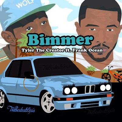 "thebestestlexis:  ""You remind me of my Bimmer"" @tylerthecreator @frankocean by @thebestestlexis"