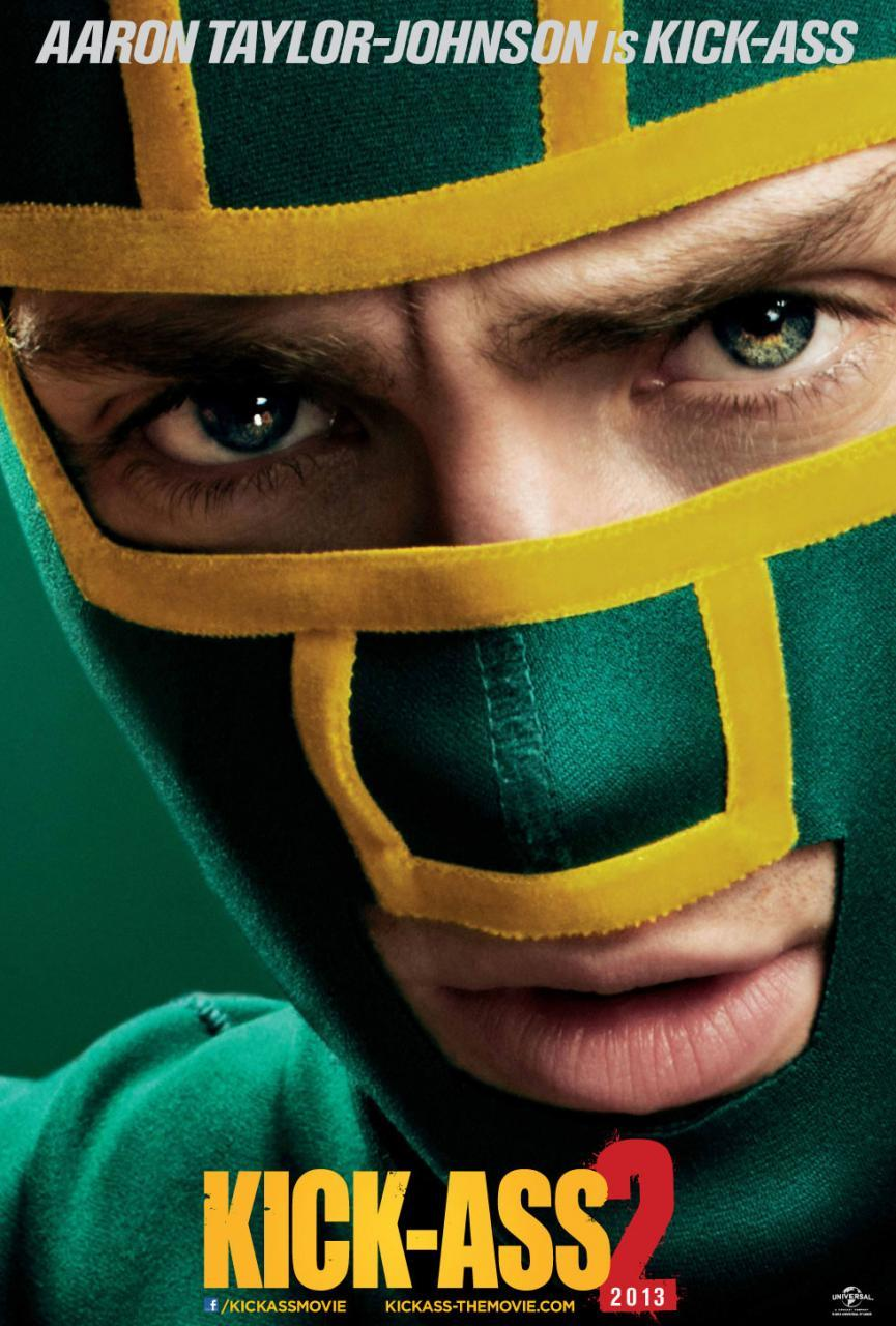 New Kick-Ass 2 Poster