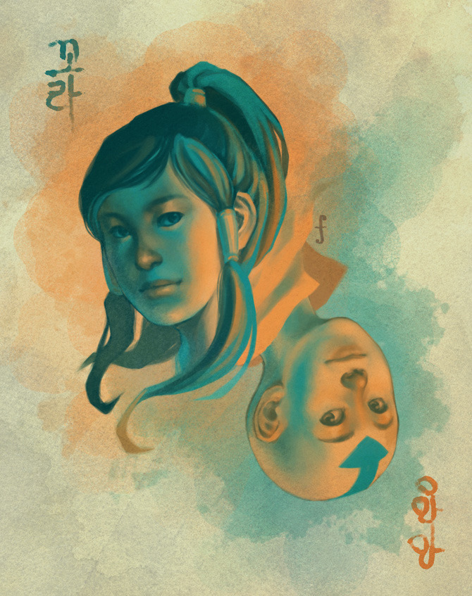 forever-makorra:  LoK/ATLA: A tale of two avatars by ~kahel