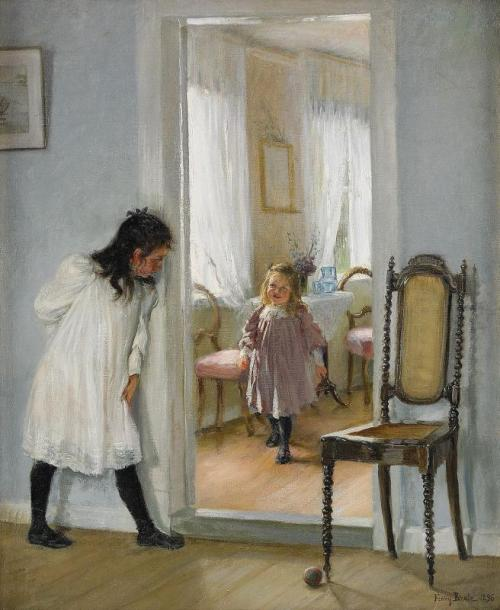 fleurdulys:  Hide and Seek - Fanny Brate 1896