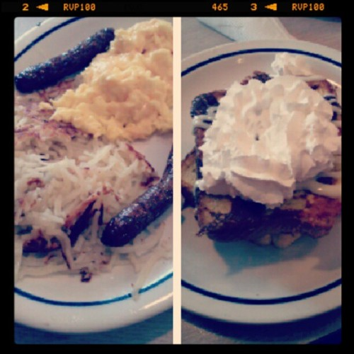 #morning #Ihop #love #French #toast #food #foodporn #eggs #sausage