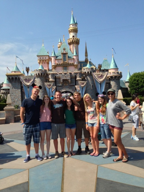 Grad nite in Disneyland was a+