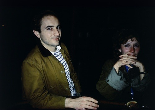 "Crying in Art, Part 54  Nan Goldin (American, born 1953)  David and Butch Crying at Tin Pan Alley, New York City  Date:1981Medium:Silver dye bleach print, printed 2009Dimensions:15 1/2 x 23 1/8"" (39.4 x 58.7 cm)"