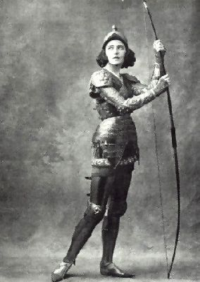 ivebeentoamarvellousparty:  Ida Rubinstein dancing as Saint Sebastian, or posing in promotional photos for that role. Ida was perhaps not one of the virtuosa ballerinas of her time (1920s), but she was known for her acting skills on stage.