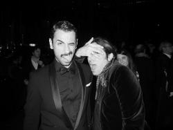 "Luca Finotti e Luca Lanzoni at the CHANEL ""THE LITTLE BLACK JACKET"" event in #MILAN Luca Finotti wearing http://www.neilbarrett.com/it/ source: http://www.joujouvilleroy.com/"