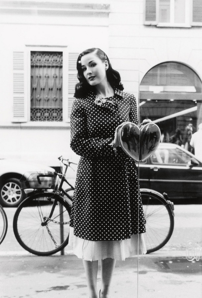 suicideblonde:  Dita Von Teese photographed by Esther Haase
