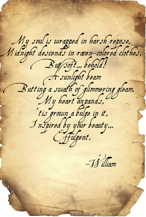 dhoffrynsdemons:  William the Bloody's full poem.